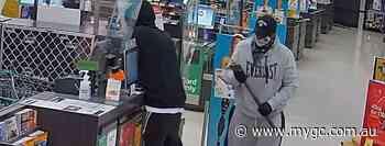 WATCH: Police hunting axe, crowbar wielding duo over Gold Coast supermarket break-ins – myGC.com.au - myGC.com.au