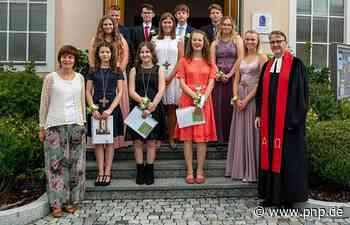Elf Jugendliche erhalten Konfirmations-Segen - Eggenfelden - Passauer Neue Presse