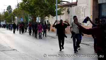 Migrants scale Melilla fence, enter Spain' - Bendigo Advertiser
