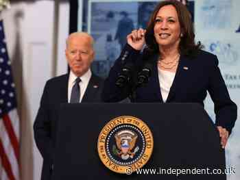 Biden gets 52 per cent favourability rating in new poll – with Harris down at 47 per cent
