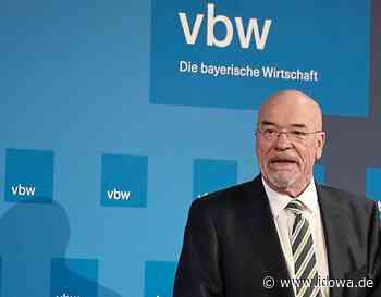Deutschland-Plan 2025 der vbw - Bayerns Unternehmer mischen sich ein - idowa