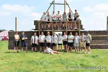 Rundveehouder verwelkomt 130 Scouts uit Mol die moesten vluc... - Het Nieuwsblad