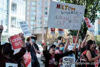 Petition launched to boycott Burnaby's Hilton hotel as lockout drags on - Burnaby Now