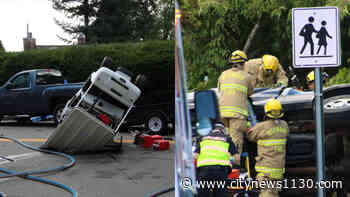 Two killed in Burnaby truck collision - News 1130