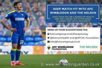 AFC Wimbledon launch wellbeing programme in Merton | Wimbledon Times - Wimbledon Guardian
