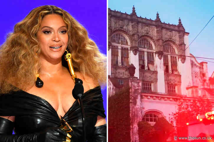 Cops open ARSON probe into fire at Beyonce's $2.4m New Orleans home after 'books found in oven' & suspicious person seen