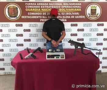 Decomisan una subametralladora en Santa Elena de Uairén - primicia.com.ve