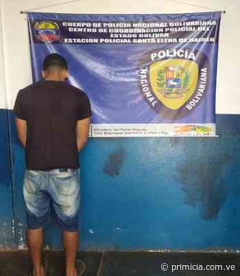 Capturado por violencia de género en Santa Elena de Uairén - primicia.com.ve