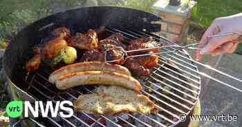 Slager uit Nazareth levert samen met andere ondernemers barbecue-ingrediënten aan inwoners rampgebied - VRT NWS
