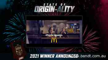 Macca's And DDB Win Nine's State Of Originality Competition