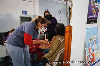 Este domingo, nueva jornada de vacunación espontánea contra el coronavirus - El Cordillerano