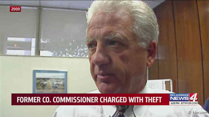 Former county commissioner charged after allegedly taking tractor from Tinker Air Force Base