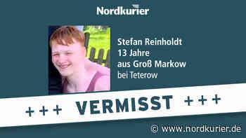 Polizei aus Teterow sucht 13-Jährigen auch außerhalb von MV - Nordkurier