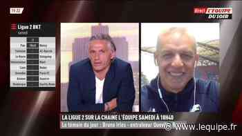 Bruno Irles (Quevilly-Rouen) : « Mon objectif est de performer » - L'Équipe.fr