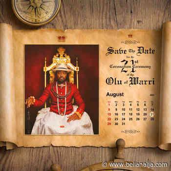 Prince Tsola Emiko will be crowned Olu of Warri on the 21st of August 2021 - BellaNaija
