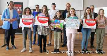 Erfolgreiche Teilnehmer an Aktion Schulradeln aus Kreis Merzig-Wadern - Saarbrücker Zeitung