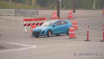 Road closure leads to driving concerns on Calgary highway