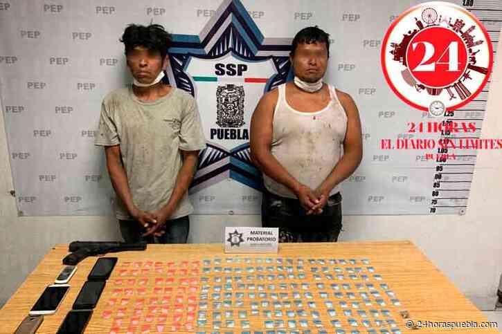 Caen 2 presuntos narcomenudistas en la colonia Tres Cerritos - 24 Horas El Diario Sin Límites Puebla