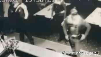Cops swarm pub over virus breach