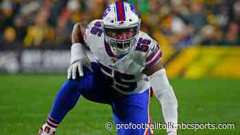 Bills defensive end Jerry Hughes embraces the COVID vaccine