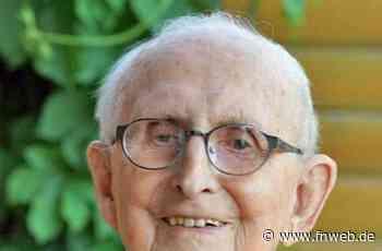 Josef Berberich aus Hardheim feiert seinen 100. Geburtstag - Höpfingen - Nachrichten und Informationen - Fränkische Nachrichten