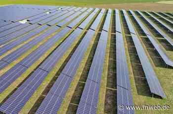 Grünes Licht für Photovoltaikpark in Bretzingen - Hardheim - Nachrichten und Informationen - Fränkische Nachrichten