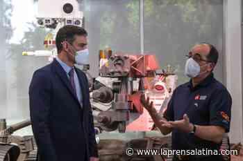 Sanchez touts Spanish aerospace prowess on visit to NASA lab - La Prensa Latina