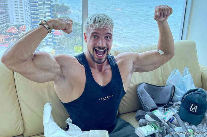 German Bodybuilder Shows How Quickly You Can Lose Muscle Through Inactivity