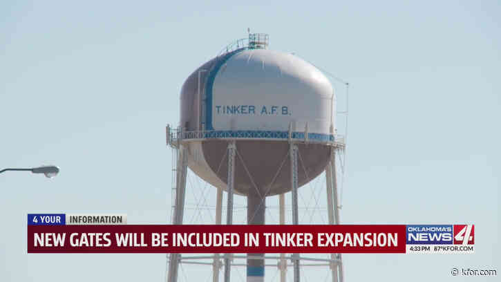 New gates to be included in Tinker Air Force Base expansion
