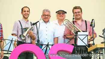 Musiker auf der Landesgartenschau - Beste Werbung für Villingen-Schwenningen - Schwarzwälder Bote