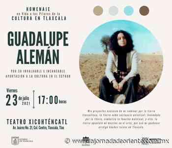 En homenaje, reconocerá ITC trayectoria de Guadalupe Alemán este viernes - Tlaxcala - La Jornada de Oriente
