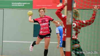 Frauenhandball: Enttäuschendes Testspiel der TusSies Metzingen gegen Frisch Auf Göppingen - SWP