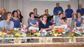 Chor Fortissimo Metzingen Glems: Benefiz in den Straßen des Dorfes - SWP