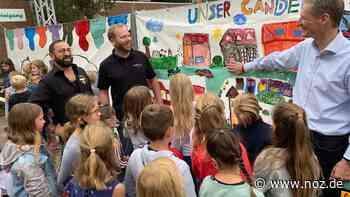 Mehr als 60 Mädchen und Jungen machen Ganderkesee ein Stück bunter - noz.de - Neue Osnabrücker Zeitung