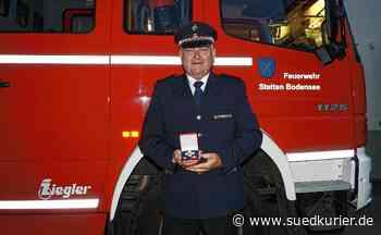 Stetten: Stettens Bürgermeister Daniel Heß ist seit 40 Jahren aktiv im Feuerwehrdienst - SÜDKURIER Online