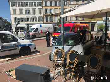Mulhouse : il fonce dans une terrasse, six mois avec sursis pour le chauffard sous drogues - actu.fr