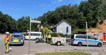 Schwerer Unfall an der Grünwaldkreuzung - Mittelbayerische