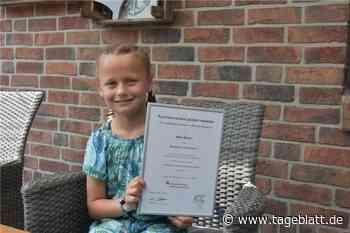 Plattdeutscher Lesewettbewerb: Neunjährige aus Klein-Wangersen zählt zu den Gewinnern - Harsefeld - Tageblatt-online