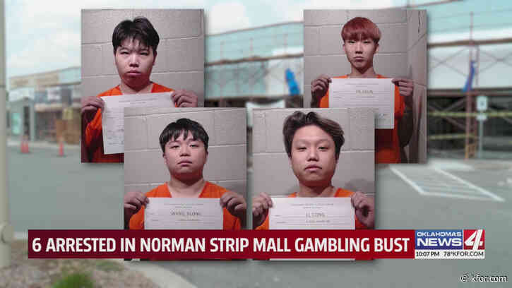 Norman police bust illegal gambling operation in strip mall, six arrests made so far