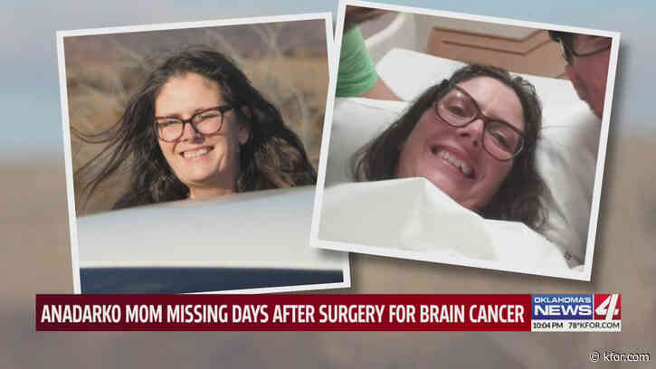 Caddo County authorities, worried son call upon public to help locate missing Oklahoma woman suffering from brain cancer