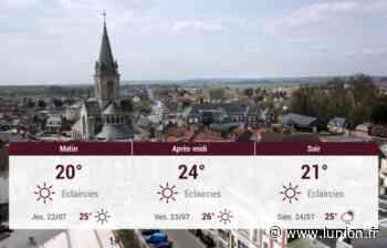 Chauny et ses environs : météo du mercredi 21 juillet - L'Union
