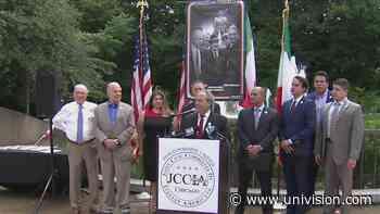 Organización pide que estatua de Cristobal Colon sea reubicada en Chicago | Video | Univision Chicago WGBO - Univision