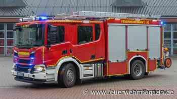 Scania mit WISS-Aufbau: Drei HLF 20 für die BF Hamm