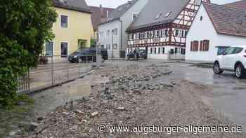 Unwetter: Gibt es auch Soforthilfen für das Zusamtal? - Augsburger Allgemeine