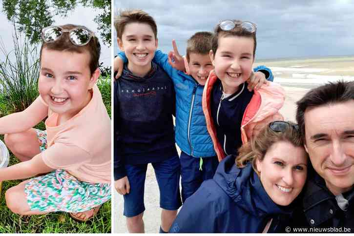 """Saartje (11) verloor na twee jaar de strijd tegen leukemie, maar ouders vertelden niets: """"We hebben haar nog drie speciale wonderweken gegeven"""""""