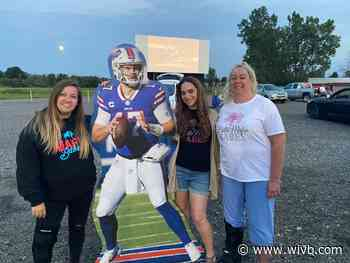 """""""Bills Mafia Babes"""" host drive-in fundraiser for Micah Hyde's foundation"""
