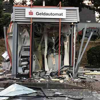 Polizei überführt Geldautomatensprenger aus Duisburg und Neukirchen-Vluyn - Radio K.W.