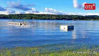 Pegel gesunken: Bootseinlassstelle in Saalburg ist wieder nutzbar - Ostthüringer Zeitung