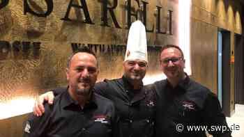 Italienisches Restaurant in Ehingen : Eröffnungstermin steht fest: An diesem Tag eröffnen die Passarellis offiziell ihr Restaurant am Marktplatz - SWP