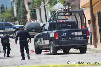 Asesinado a balazos en la colonia Morelos, en Jiutepec - Unión de Morelos